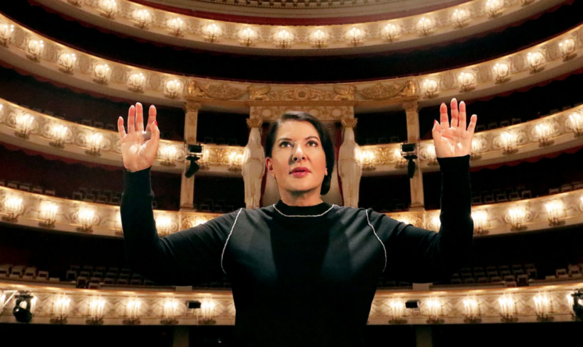 Marina Abramovic a Napoli con 7 Deaths of Maria Callas