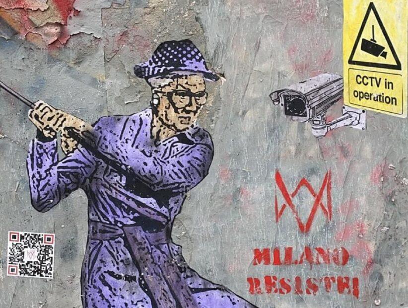 Milano resiste -TvBoy- (particolare) Courtesy l'autore