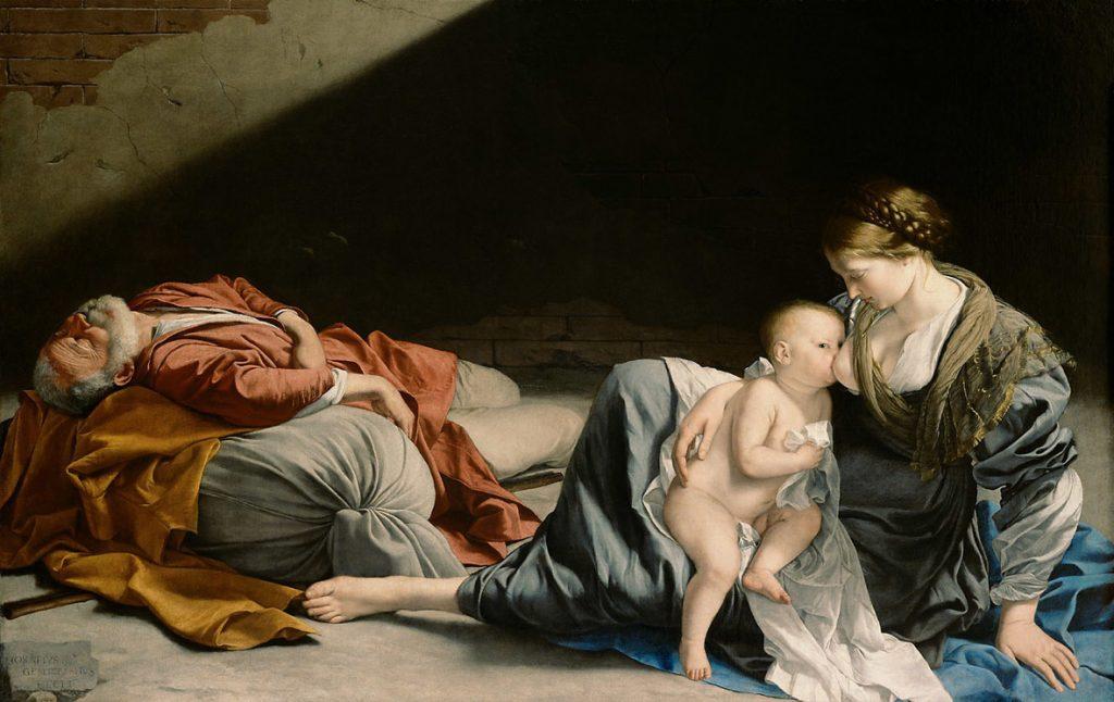 Orazio Gentileschi guida la Fuga in Egitto nella mostra di Cremona
