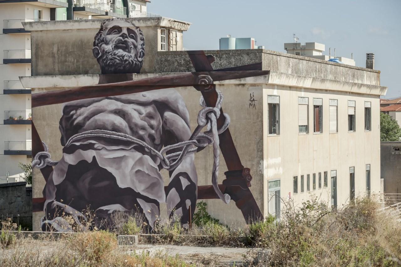 Festival internazionale Bitume. Più di trenta grandi murales fanno Ragusa bellissima