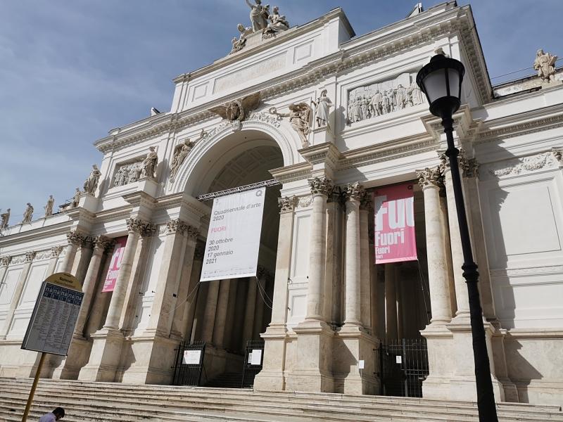 Quadriennale di Roma al Palazzo delle Esposizioni