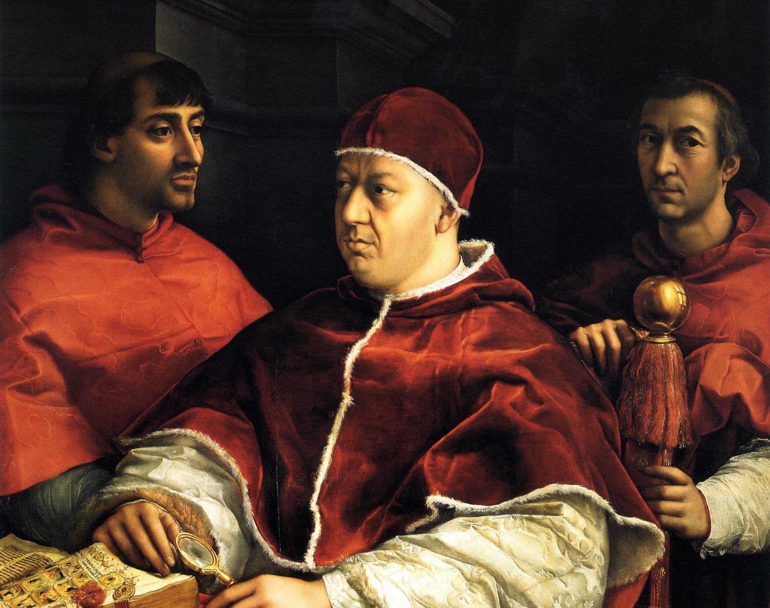 Tutto opera di Raffaello: il ritratto di Leone X torna agli Uffizi