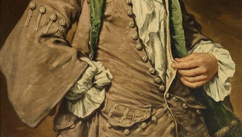 Fra Galgario (Giuseppe Ghislandi) Ritratto di giovane gentiluomo 1730-1735 circa, olio su tela deposito Direzione Regionale Musei Lombardia, 2020