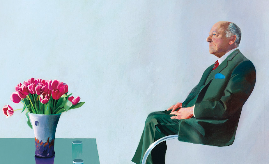 "David Hockney torna in asta. Da Christie's il ""Ritratto di Sir David Webster"""
