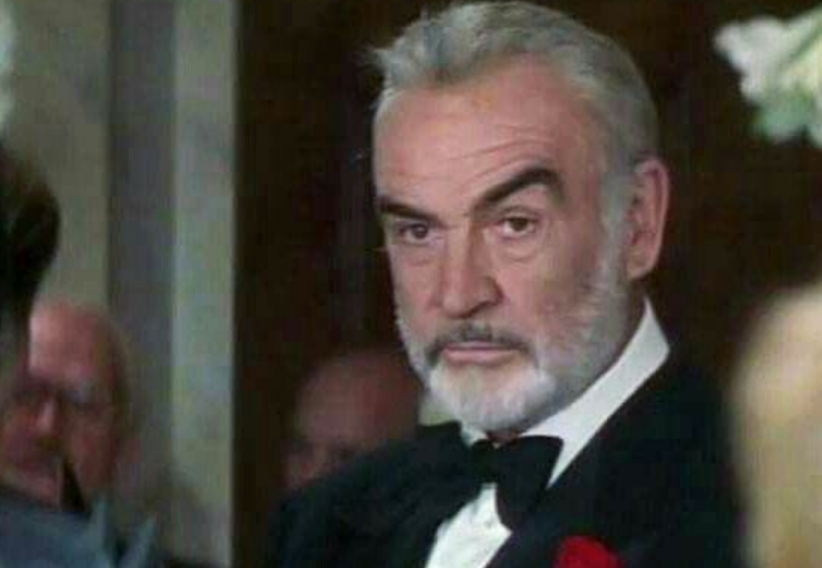 Sean Connery nel film Entrapment