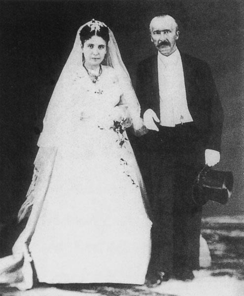 Sophia e Schliemann