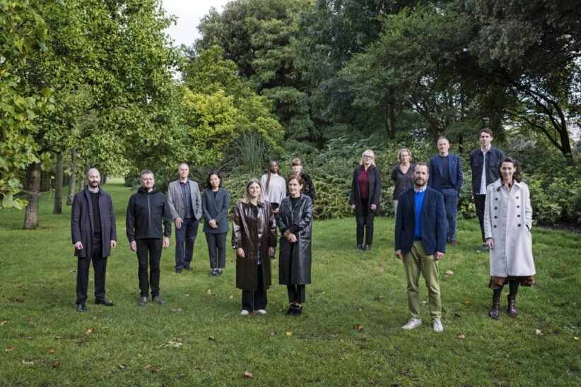 The founding members of the Gallery Climate Coalition. Courtesy GCC