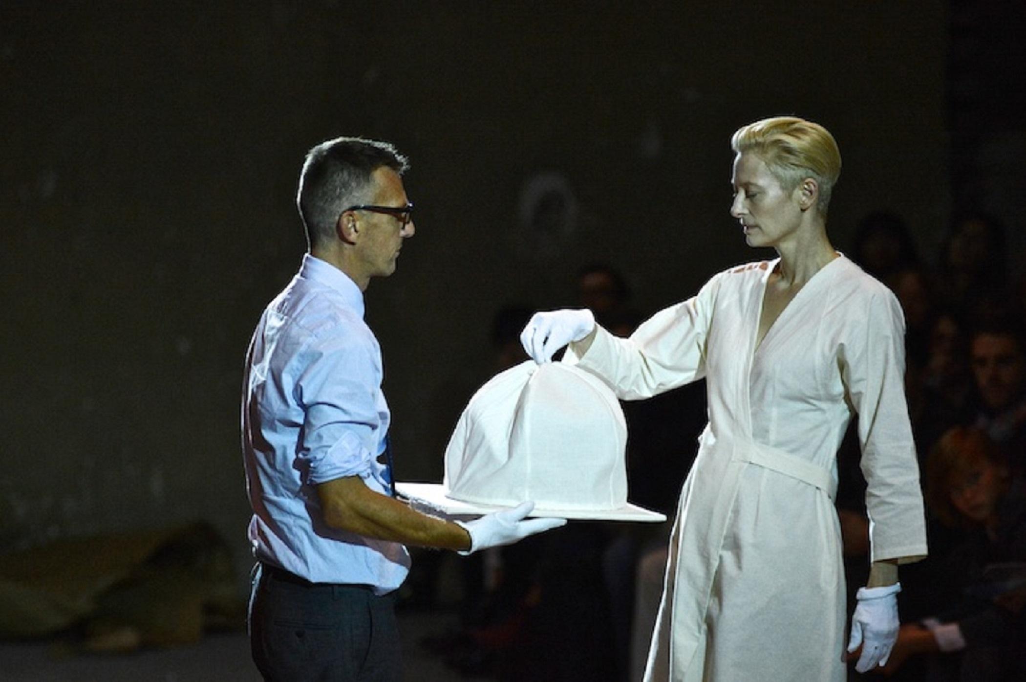 Tilda Swinton incontra Pasolini. Romaison, la mostra tra Moda, Cinema e Costume
