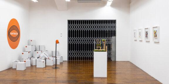 Veduta della mostra, Neuro_Revolution, 2020, MLZ Art Dep, Courtesy AiR Trieste - Per Chi Crea, Foto Studio Macovaz_2