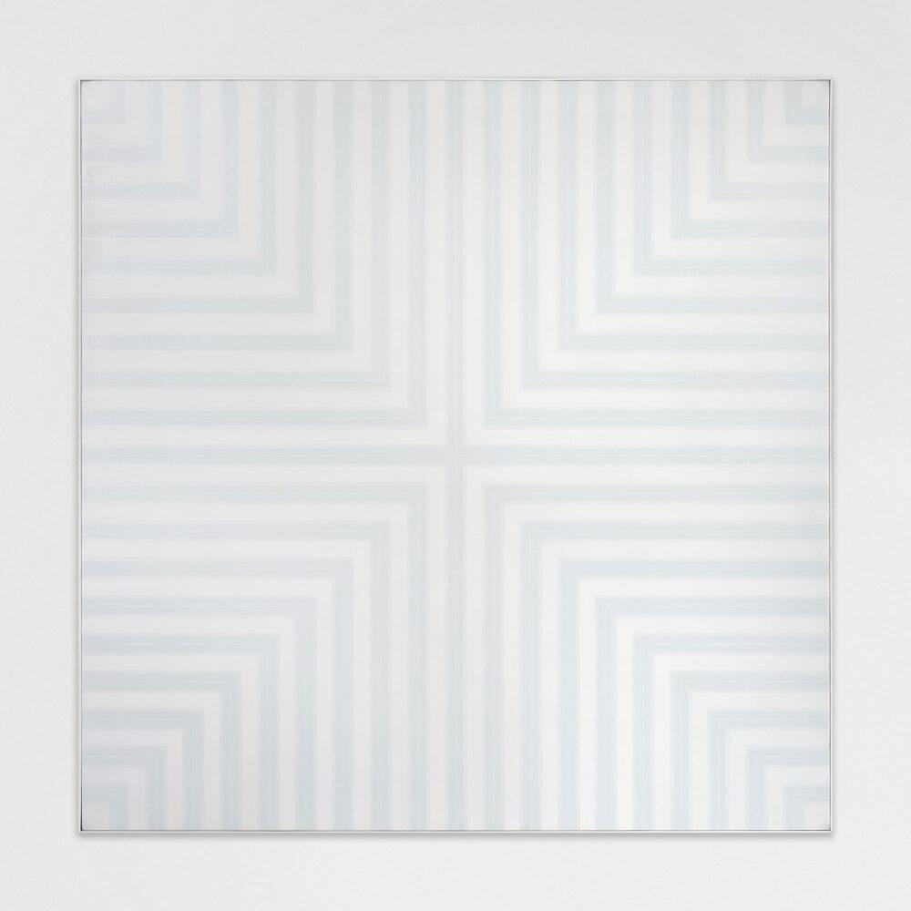 Vincenzo Satta, Senza titolo, 1975:76, olio su tela, 200x200 cm