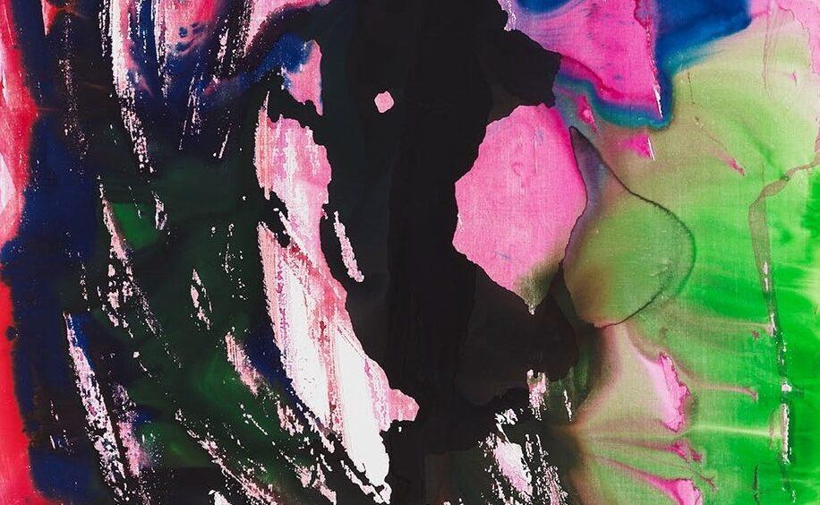 Collisioni di pigmenti galleggianti. Katharina Grosse in arrivo da Gagosian Roma