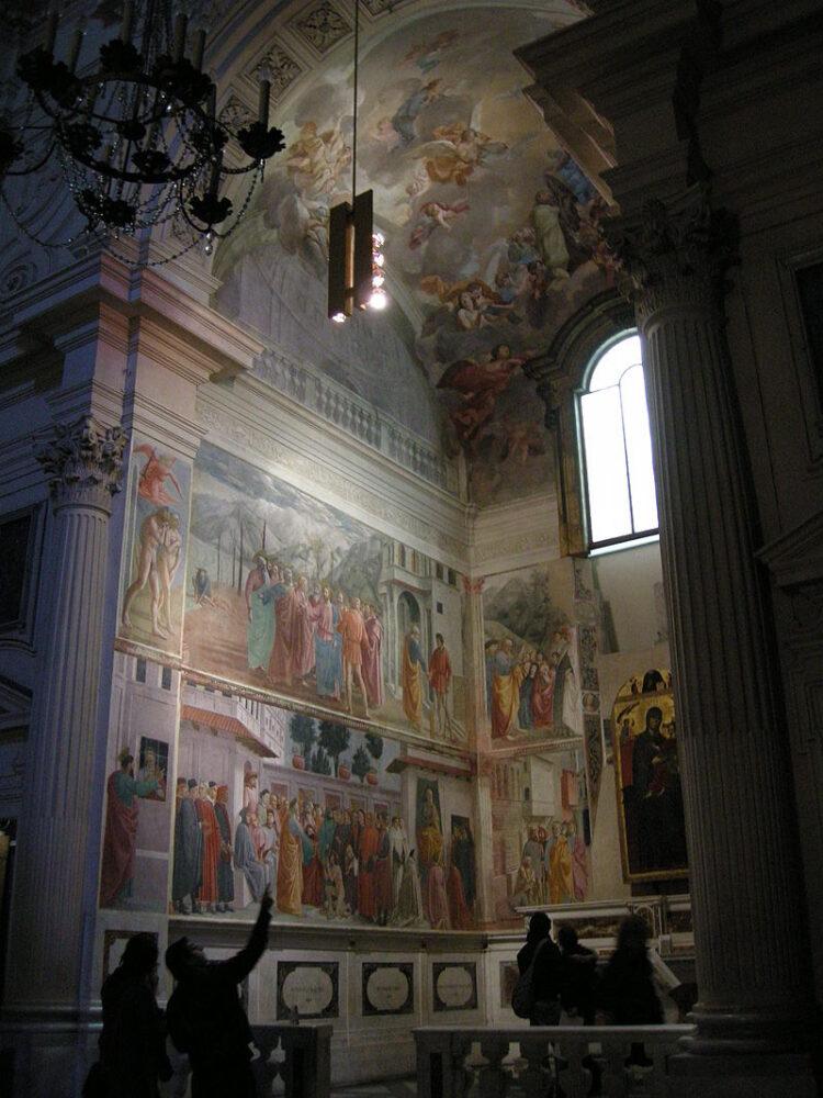 Firenze, Chiesa di Santa Maria del Carmine, Cappella Brancacci, Storie di San Pietro, Masaccio.