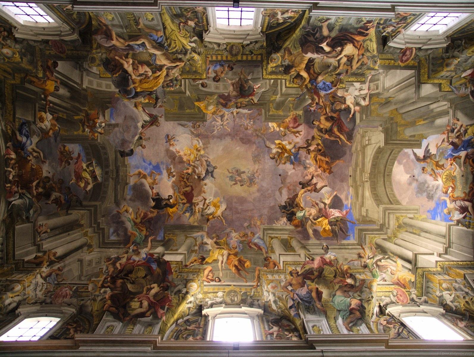Tra sacro e barocco, canti e tessiture. La performance di Thomas De Falco a Sant'Ignazio di Loyola