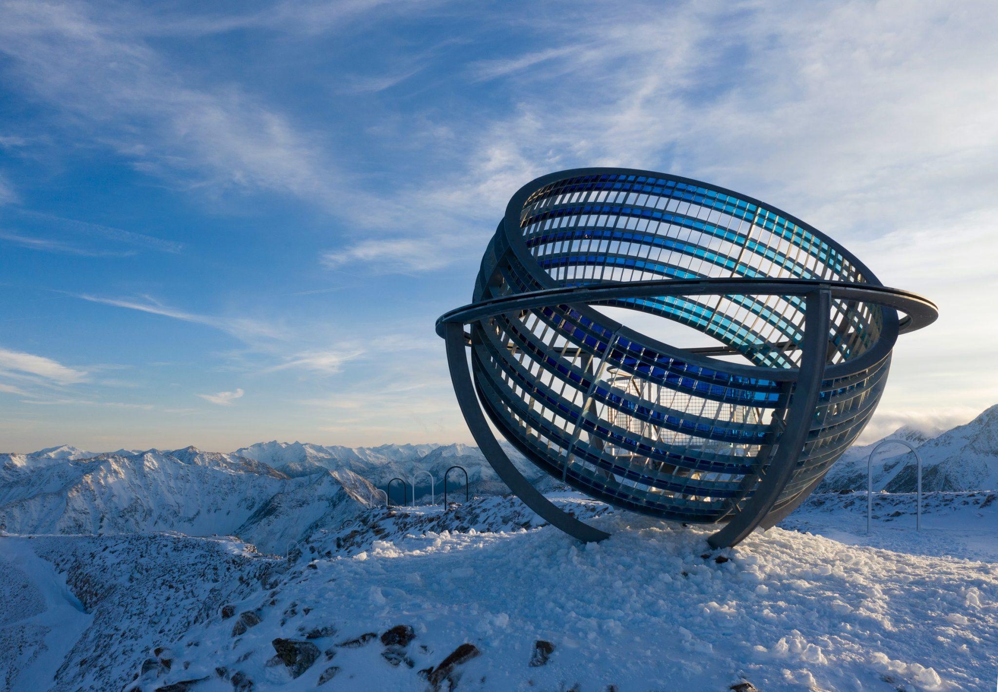 Olafur Eliasson sfiora le vette dell'Alto Adige con una nuova installazione