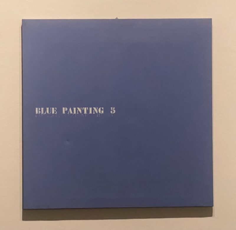 Blue Painting 5