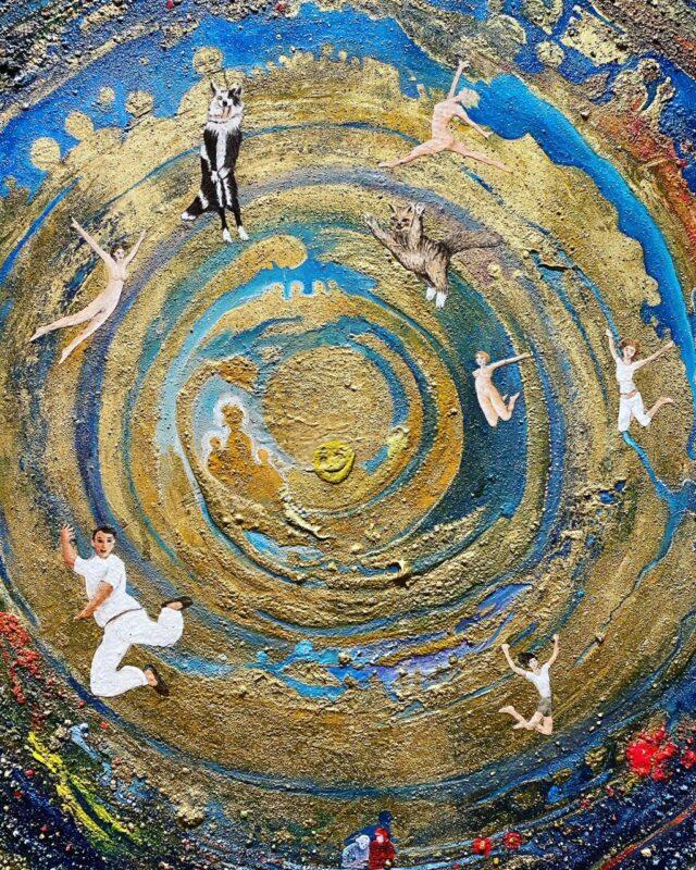 Roberto Venturini, Arrivo in Paradiso(dettaglio)