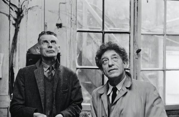 Un incrocio atteso da sempre: Giacometti incontra Samuel Beckett in mostra a Parigi