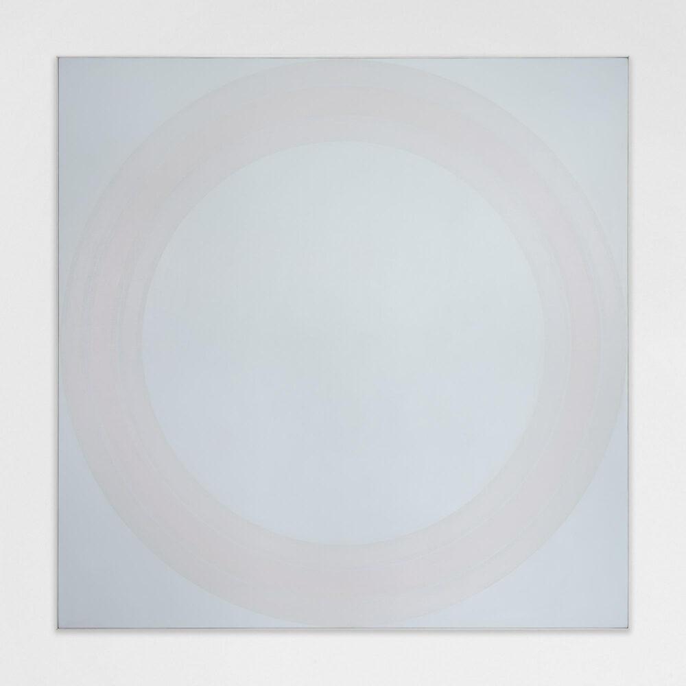 Vincenzo Satta, Senza titolo, 1978/79, olio su tela, 200x200 cm