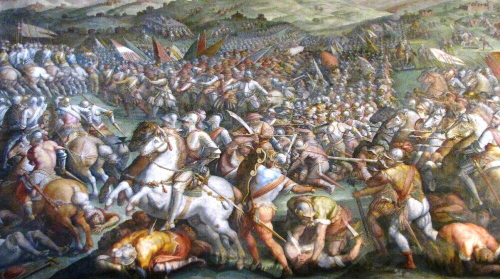 Leonardo non dipinse Battaglia Anghiari nel Salone dei 500