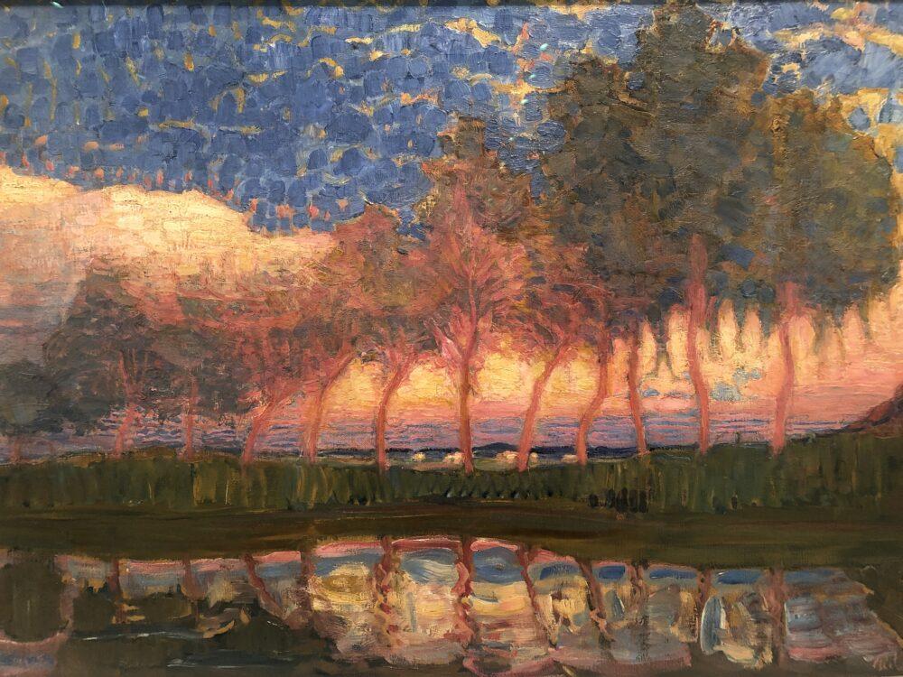 Piet Mondrian, Summer Day, 1908 Collection Museum de Fundatie, Zwolle and Heino/Wijhe, The Netherlands © Mondrian/Holtzman, 2020