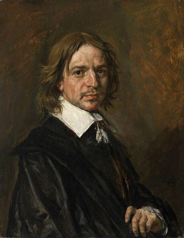 Frans Hals, Ritratto di un uomo sconosciuto