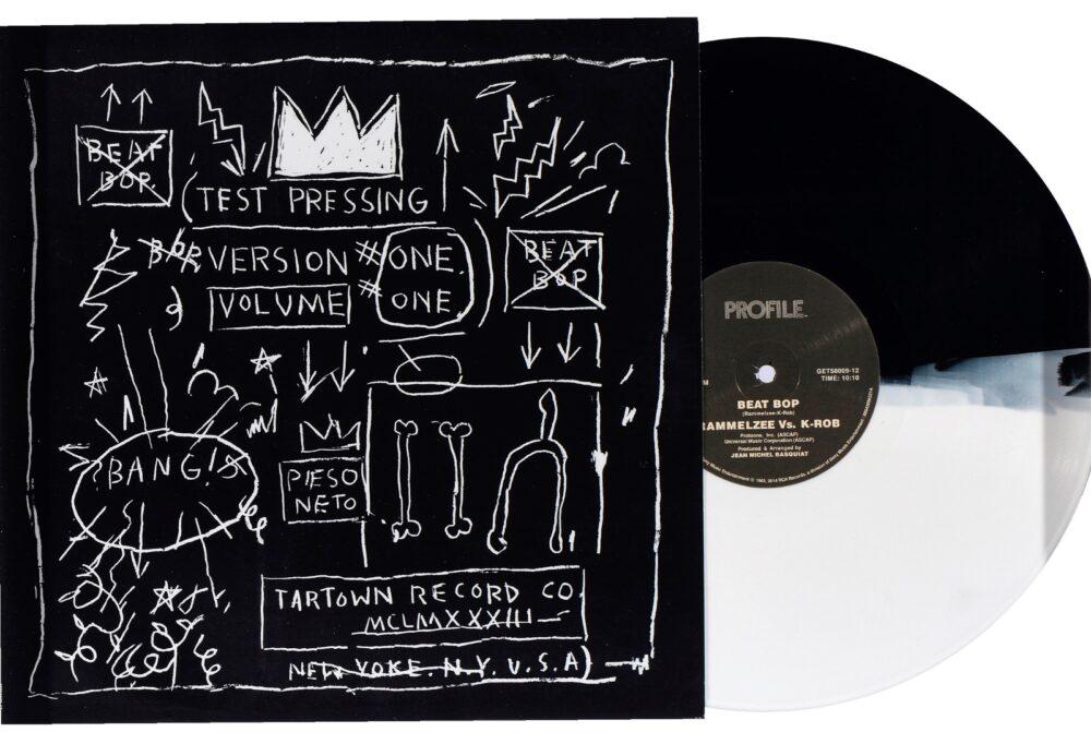 Jean-MichealBasquiat, Beat Pop (copertina di vinile), 1983