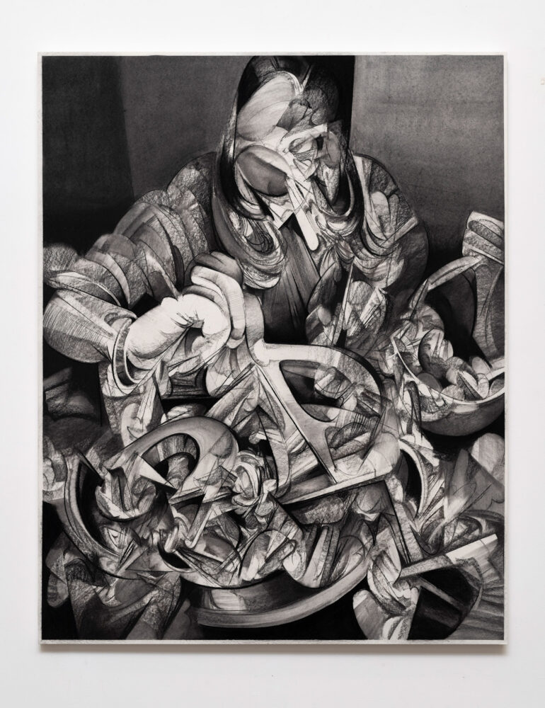 Anna Park, On Tilt - Exhibition view, Galleria T293, Rome, 2020 - Courtesy of the artist and T293