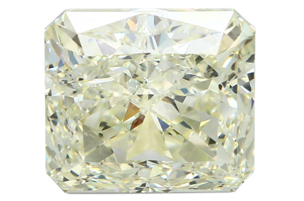 Lotto 71 - Diamante sciolto fancy litgh yellow ct 12,81. Stima 80.000-100.000 euro