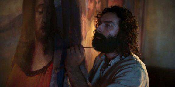 Aidan Turner è Leonardo nella nuova serie tv