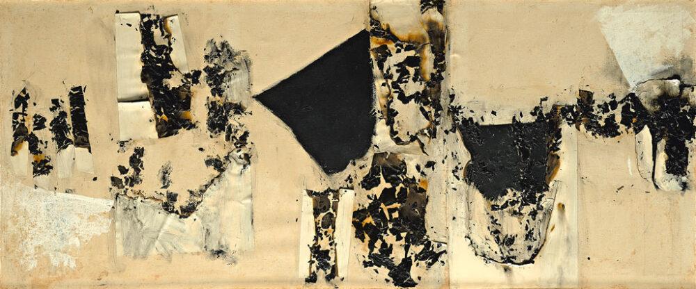 Alberto Burri, Combustione 14 (Combustion 14), 1957