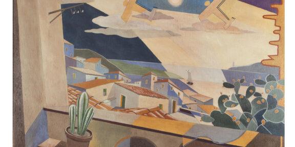 Giulio Danna - Finestra sullo stretto, 1929-30