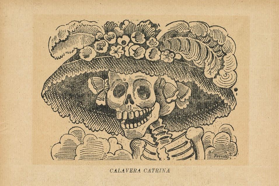 Josè Guadalupe Posada, Calavera Catrina