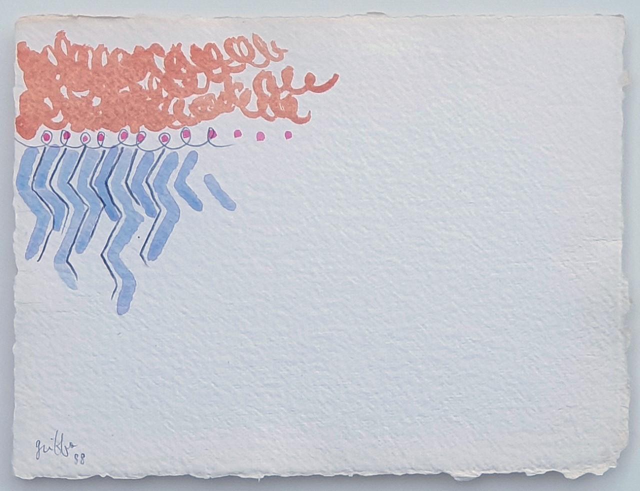 Scrittura pittorica sospesa nel vuoto. I segni primari di Giorgio Griffa a Verona