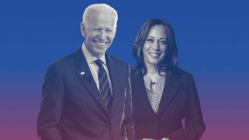 Joe Biden e Kamala Harris in un'immagine postata sul sito della campagna di Biden