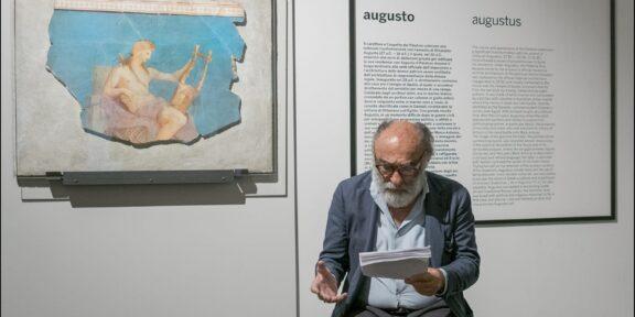 Haber legge _Canti di Pietra_ di Gabriele Tinti, courtesy Dino Ignani, Mueo Palatino