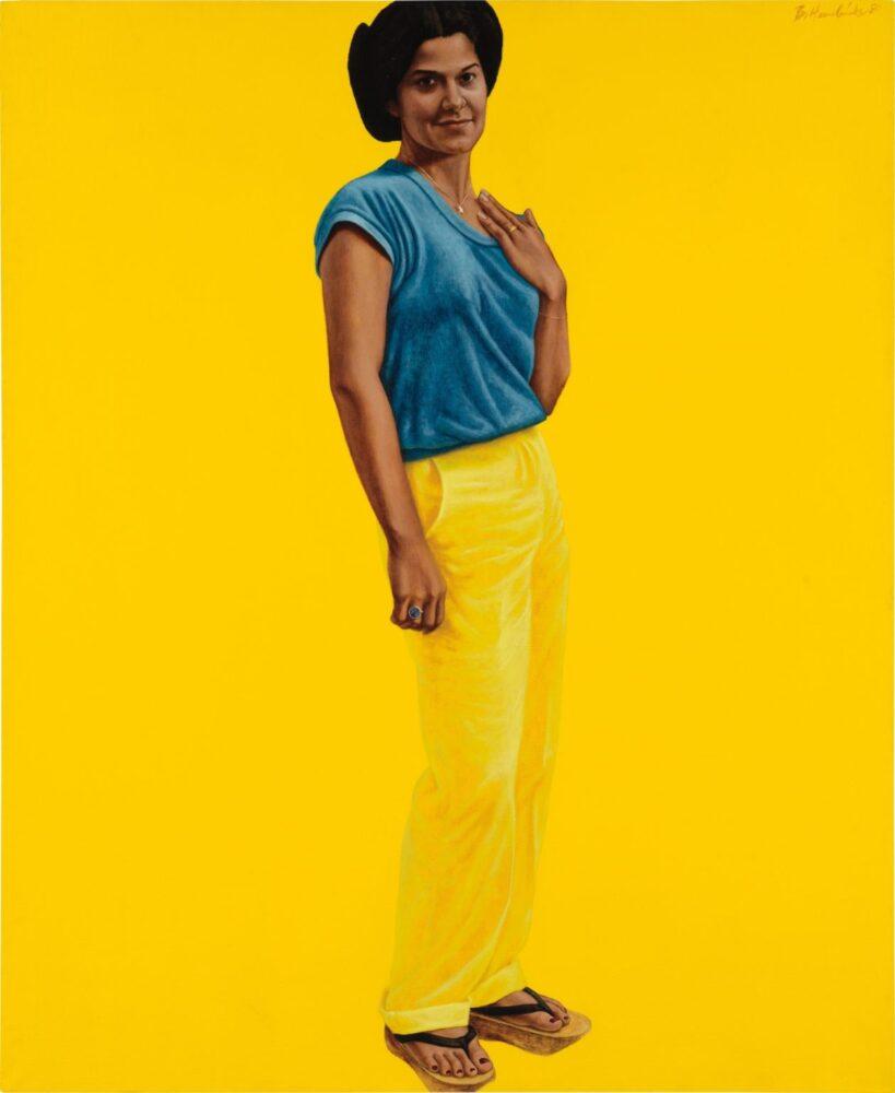 Royall Collection Phillips New York 2020 Barkley L. Hendricks, Salina/Star (1980). Courtesy Phillips.