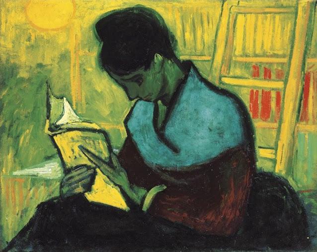 Vincent Van Gogh, La lettrice di romanzi (1888)