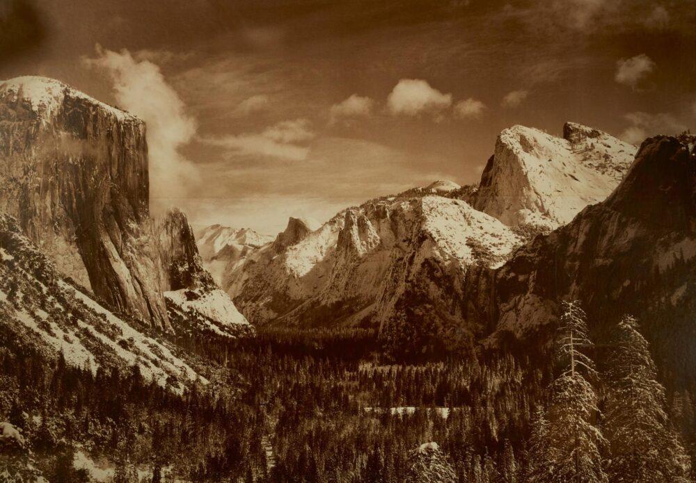 Anselm Adams David Arrington Sothebys Yosemite Valley from Inspiration Point, Winter, Yosemite National Park, $70-100.000