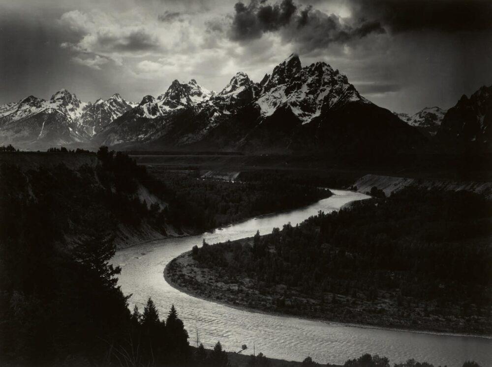 Anselm Adams David Arrington Sothebys Grand Tetons and the Snake River, Grand Teton National Park, Wyoming, $400/600.000