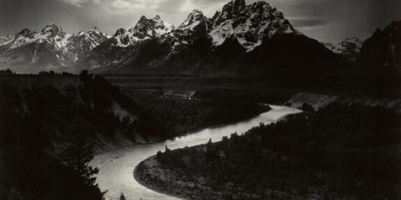 Anselm Adams David Arrington Sothebys Grand Tetons and the Snake River, Grand Teton National Park, Wyoming, $400/600.000