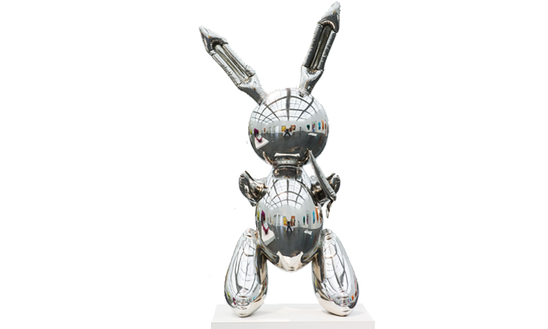 Jeff Koons, Rabbit, 1986, Collection Museum of Contemporary Art Chicago Photo by Nathan Keay, © MCA Chicago, © Jeff Koons