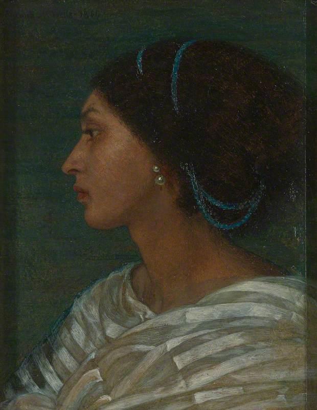 Joanna Boyce, Fanny Eaton, Yale Center for British Art