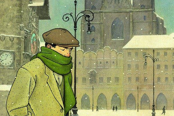 Vittorio Giardino nel docu-film di Rai5: i racconti di un fumettista a Praga e a Barcellona