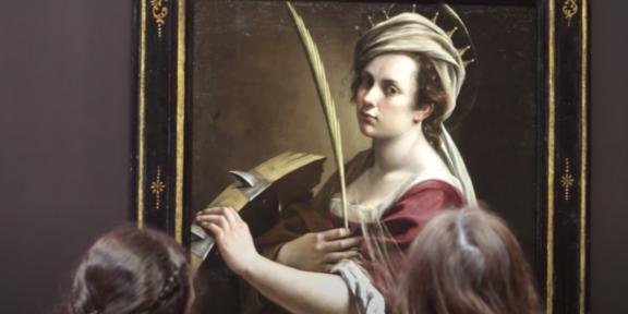 L'Autoritratto di Artemisia Gentileschi in mostra alla National Gallery, tra i primi musei a riaprire