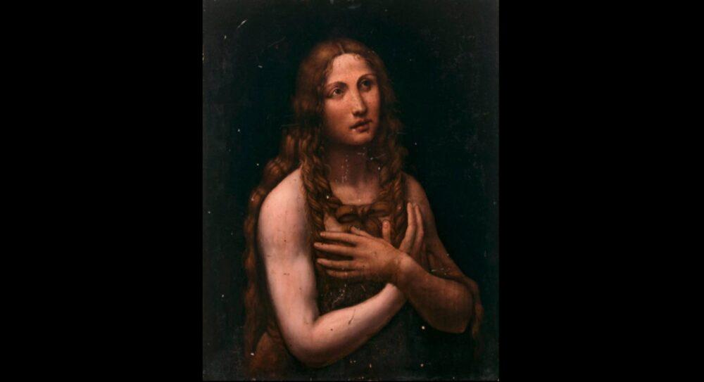 La Maddalena penitente attribuita al Salaì