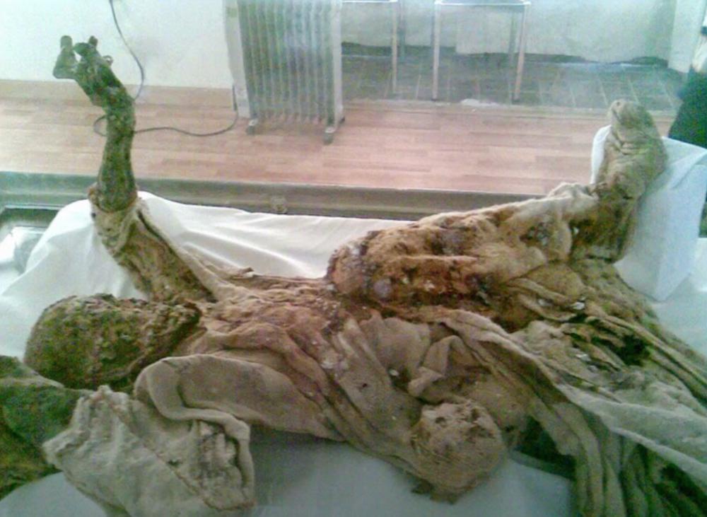 Le mummie di sale iraniane