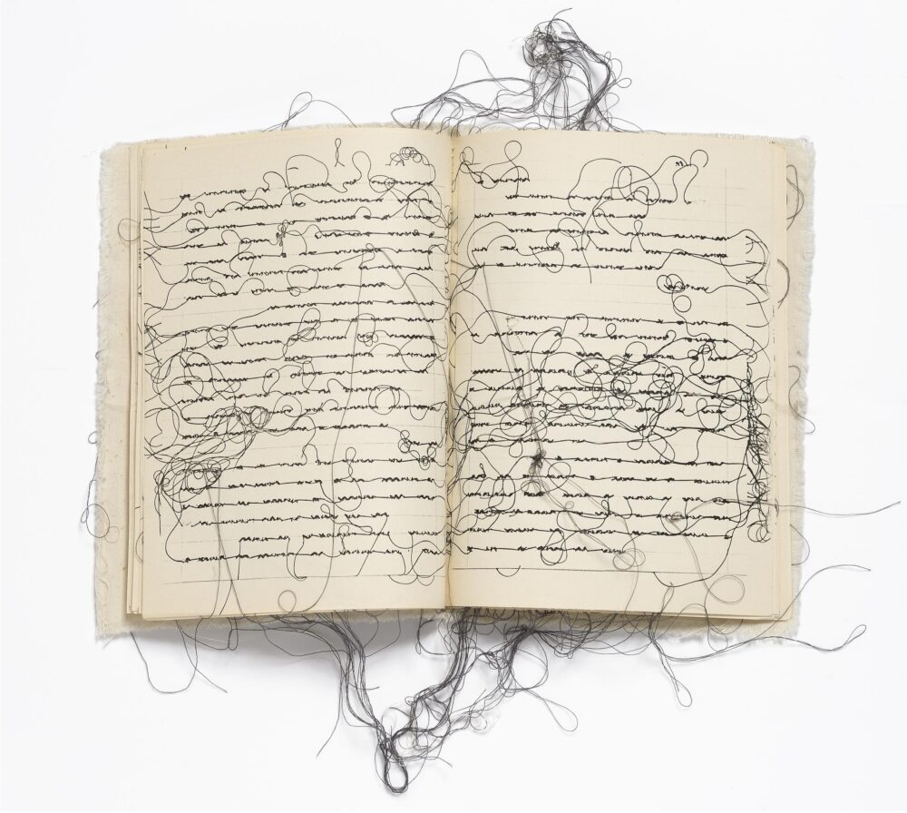 Collezione Ramo Silent Revolutions Menil Drawing Institute Maria Lai, Diary (Diario), 1979