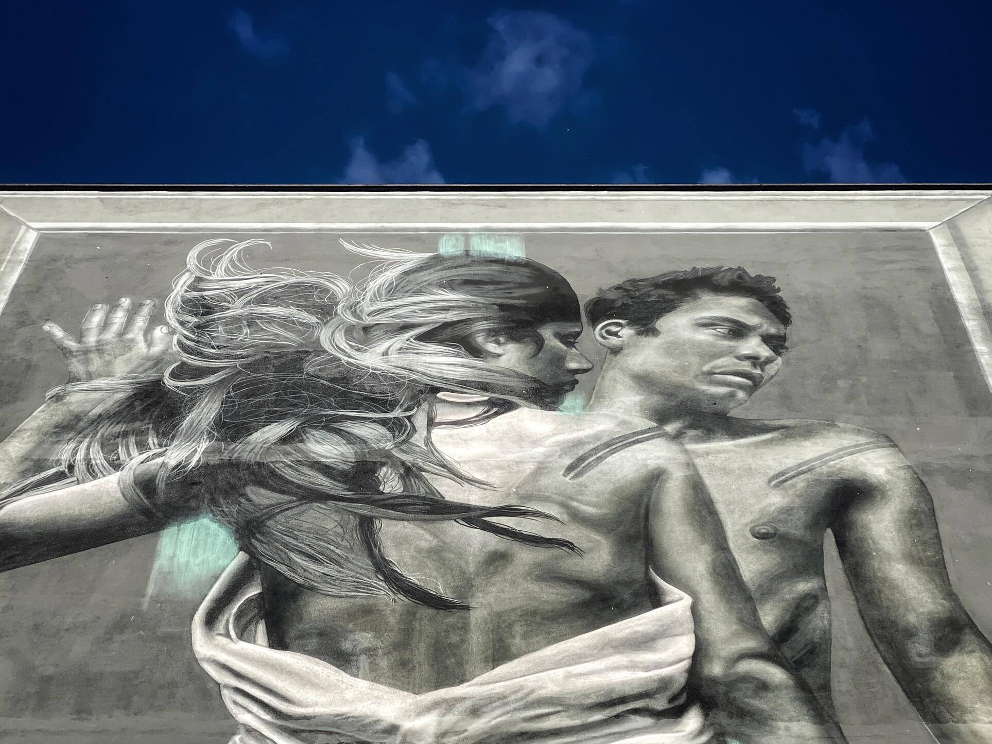 Liberi di amare. A Roma il primo murale green che celebra il movimento LGBTQ+