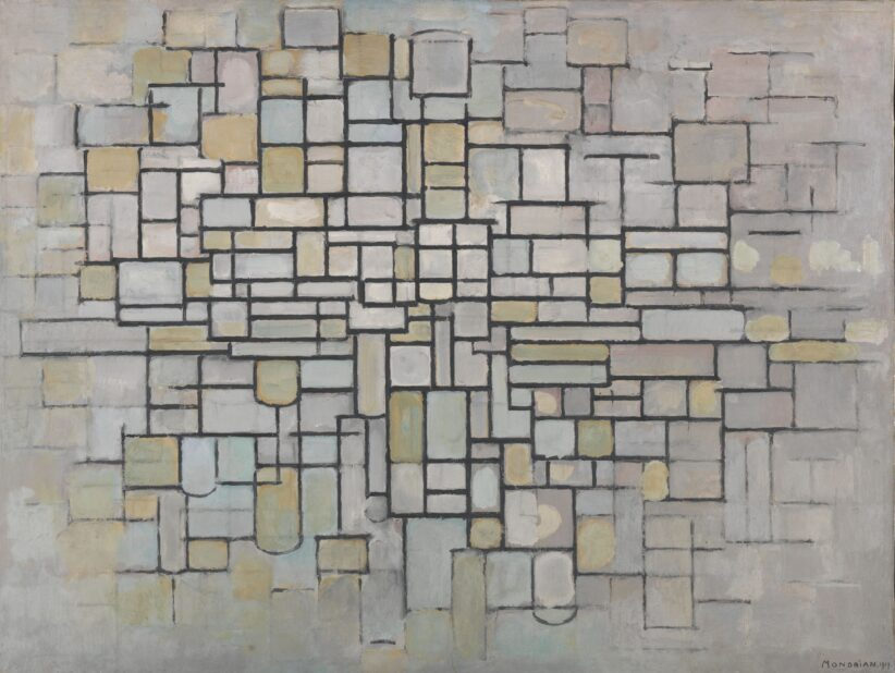 Piet Mondrian, Composition n°II, 1913