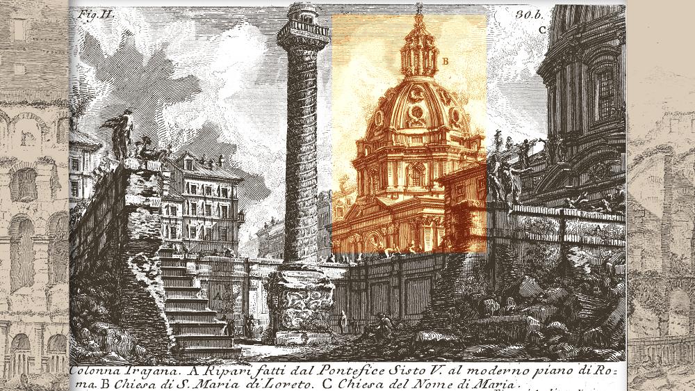 Parco del Colosseo. Arriva l'app per viverlo attraverso le celebri vedute di Piranesi